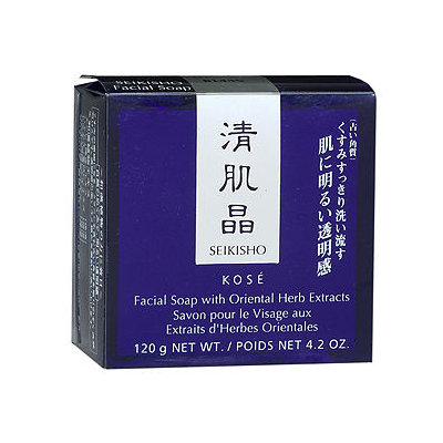 Seikisho Facial Soap with Oriental Herb Extracts