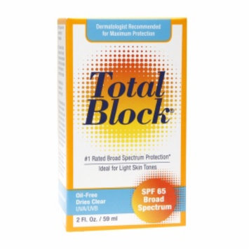 Fallene Total Block SPF 65 Sunscreen, 2 fl oz