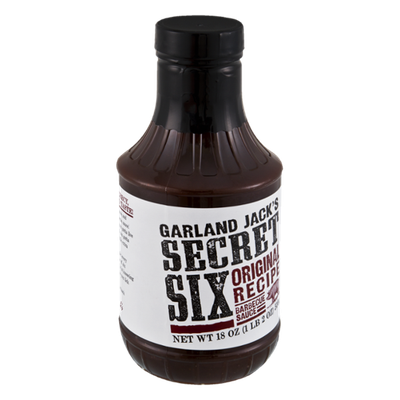 Garland Jack's Secret Six Original Recipe Barbecue Sauce