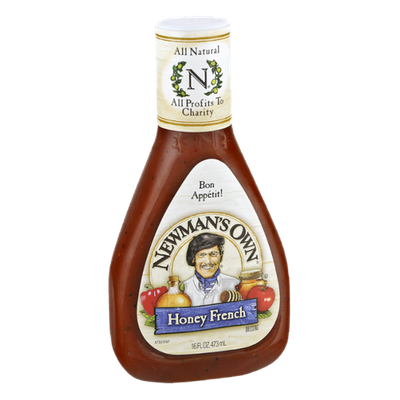 Newman's Own All Natural Honey French Dressing