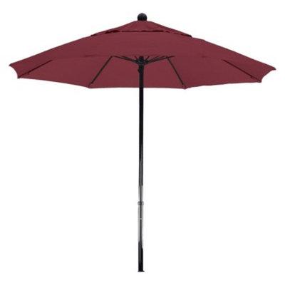 California Umbrella 7.5' Aluminum Pulley Patio Umbrella - Red Pacifica