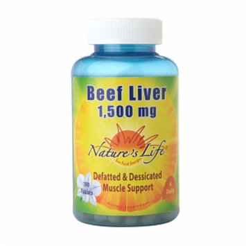 Nature's Life Beef Liver 1500mg