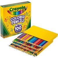 Crayola Colored Pencils, 100-Count