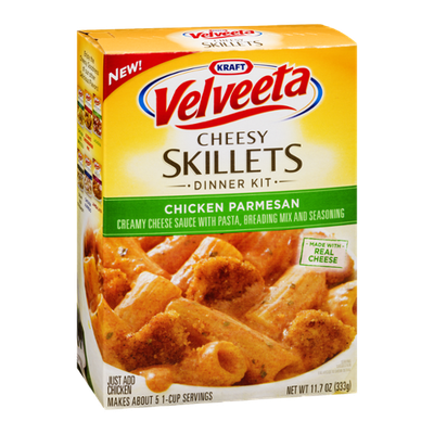 Kraft Velveeta Cheesy Skillet Dinner Kit Chicken Parmesan