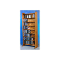 Wood Shed 8 Shelf CD Storage (Clear)