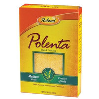 Roland Medium Grain Polenta, 8.8-Ounce Packages (Pack of 12)