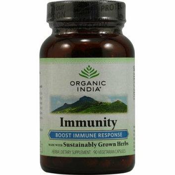 Organic India Immunity Boost Immune Response 90 Vegetarian Capsules