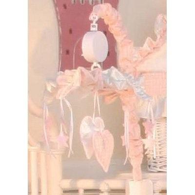 Brandee Danielle Princess Pink Musical Crib Mobile
