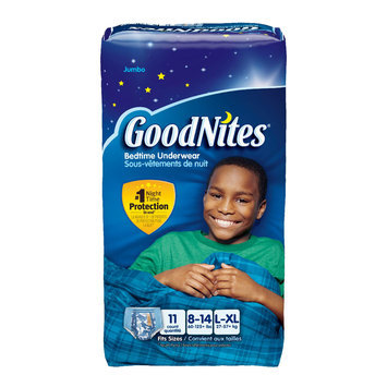 GoodNites® Bedtime Pants for Boys L/XL