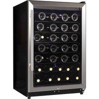 Midea 45-Bottle Wine Cooler, Stainless Steel