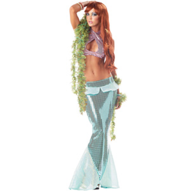 California Costume Collections CC00862S Mesmerizing Mermaid Adult Costume Size Small