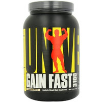 Universal Nutrition Gain Fast 3100, Cookies And Cream, 2.55-Pounds