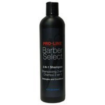 Pro-Line Barber Select 2-n-1 Shampoo 12 oz.