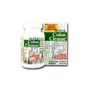 Health Plus Super Colon Cleanse Capsules Laxative, 60 Count (Pack of 2)