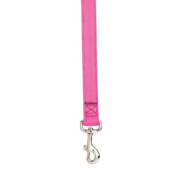 Guardian Gear Double-Layer Nylon Dog Lead, 6-Feet, Flamingo Pink
