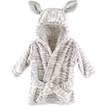 Baby Vision Hudson Baby Boys Zebra Plush Bath Robe