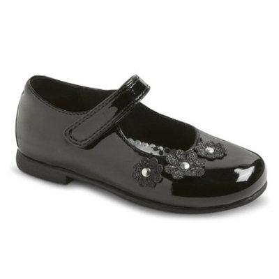 Rachel Shoes Toddler Girl's Rachel Flats Lil Jesselle Mary Jane Flats - Black 9