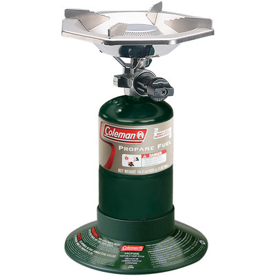 Coleman Perfectflow Stove w/ Propane Cylinder - 1-Burner