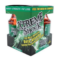 Nutrient Science Xtreme Shock, Watermelon, 12-Ounce (Pack of 4)