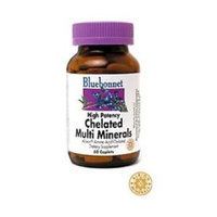 Bluebonnet Albion Chelated Multimineral (with Iron) 120 Cap 2-Pack