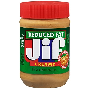 Jif Reduced Fat Peanut Butter Spread