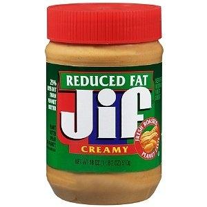 Jif Reduced Fat Peanut Butter Spread