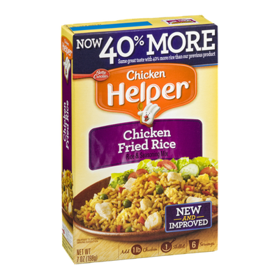 Betty Crocker Chicken Helper Chicken Fried Rice