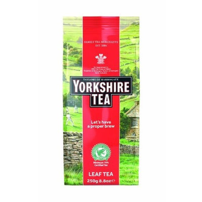 Taylors of Harrogate, Yorkshire Tea, Loose Leaf, 8.8-Ounce Packages (Pack of 6)