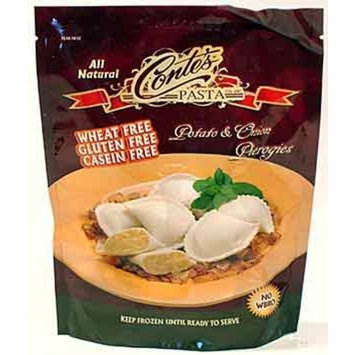 Conte's Gluten Free Potato/onion Pierogi, 12-Ounce Bags (Pack of