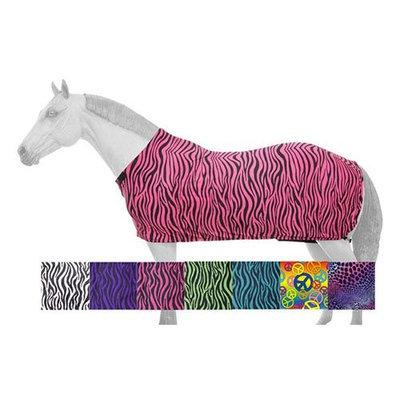 Tough-1 Full Lycra Sheet in Prints Large Purple Zebra