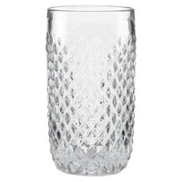 Kathy Ireland Home by Gorham Coronado Clear Hiball Drinkware Set of 4