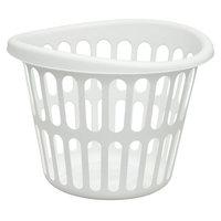 United Comb & Novelty Corp UNITED COMB & NOVELTY CORP. Round Bushel Laundry Basket White - UNITED COMB & NOVELTY CORP.
