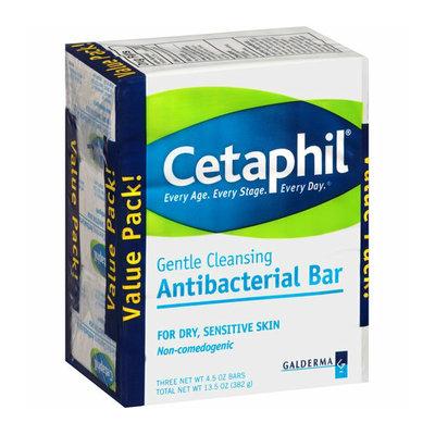 Cetaphil Gentle Cleansing Antibacterial Cleansing Bars