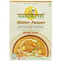 Sanskriti Mutter Paneer, 10.6-Ounce (Pack of 6)