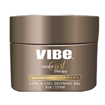 Vibe Beauty Natural Curl Therapy Curl & Coil Defining Gel, 8 fl oz