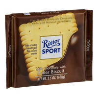 Ritter Sport Milk Chocolate With Butter Biscuit