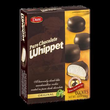 Dare Pure Chocolate Whippet Cookies Original