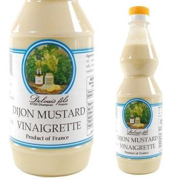 Delouis Fils French Dijon Mustard Vinaigrette Dressing - 1 x 16.90 oz