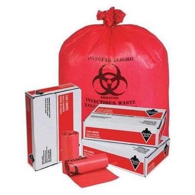 TOUGH GUY 31DK92 Hospital Isolation Bags,45 gal, PK200