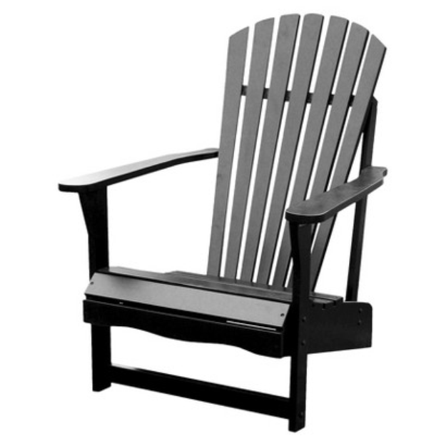 International Concepts Adirondack Chair - Black