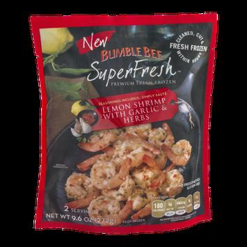 Bumble Bee SuperFresh Lemon Shrimp With Garlic & Herbs
