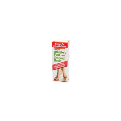 Clearly Confident Athlete's Foot and Cracked Heels- 1 Oz