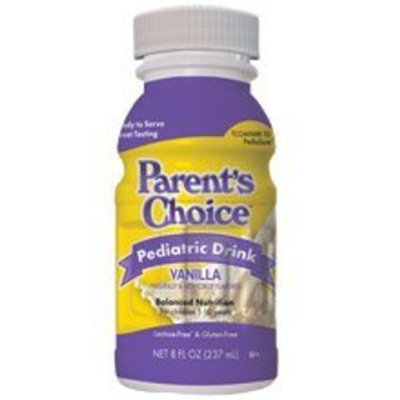 Parents Choice Parent's Choice - Nutritional Pediatric Drink, Vanilla with Fiber, 6 count