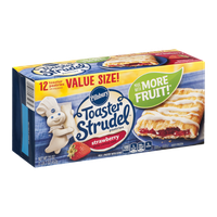 Pillsbury Toaster Strudel Pastries Strawberry