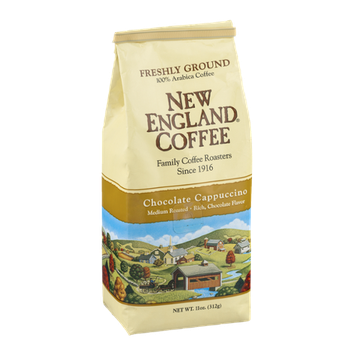 New England Coffee Chocolate Cappuccino Medium Roasted Freshly Ground