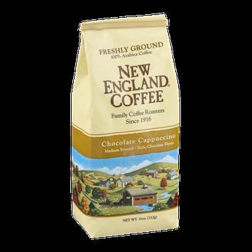 New England Coffee Chocolate Cappuccino Medium Roasted Freshly Ground