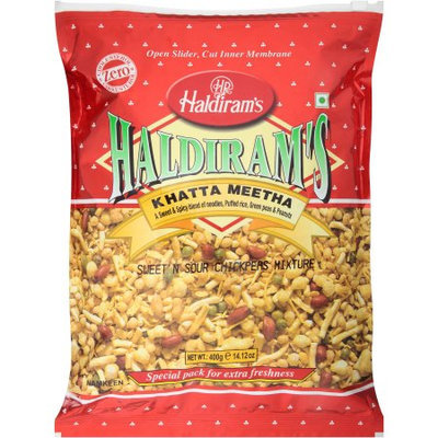Haldiram's Khatta Meetha Sweet 'N Sour Chickpea Mixture, 14.12 oz