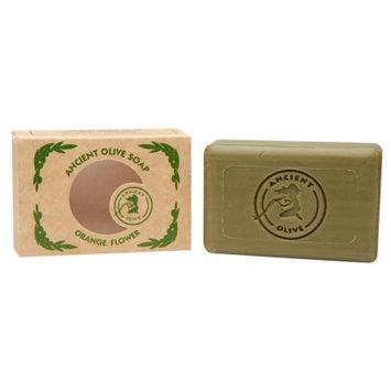 Ancient Olive Natural Olive Oil & Laurel Oil Molded Bar Soap, Orange Flower, 3.53 oz