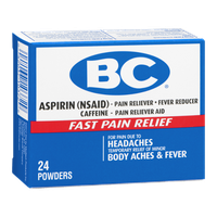 BC Aspirin Fast Pain Relief Powder - 24 CT