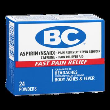 BC Aspirin Fast Pain Relief Powder - 24 CT